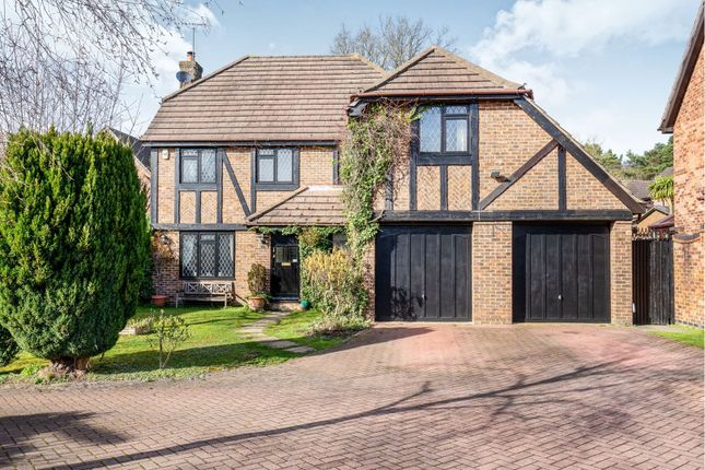 Thumbnail Detached house for sale in Lansdowne Road, Camberley