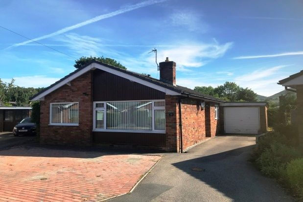 Thumbnail Bungalow to rent in Bryn Rhydd, Ruthin