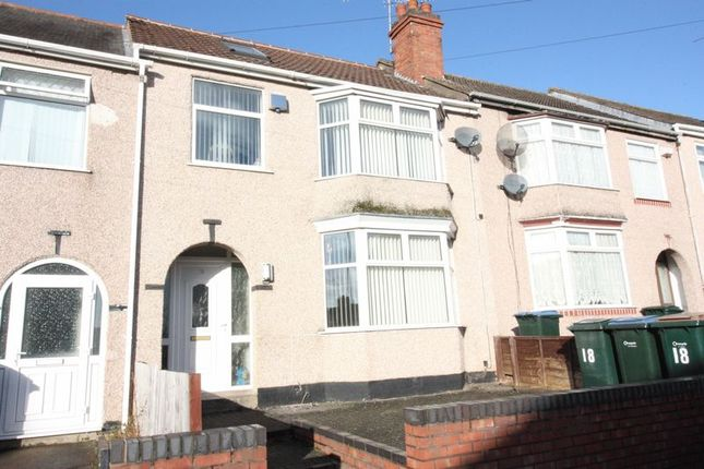 Thumbnail Terraced house to rent in Oakfield Road, Coundon, Coventry