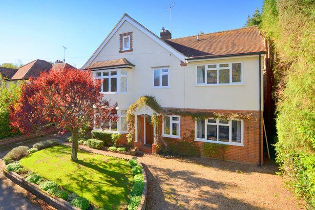 Thumbnail Detached house for sale in Longhurst Road, East Horsley, Leatherhead