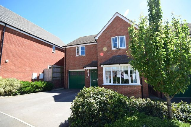 Thumbnail Detached house for sale in Cypress Road, Eden Park, Rugby, Warwickshire