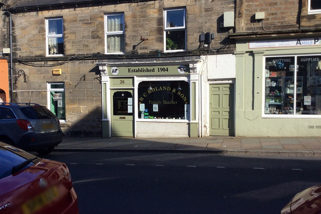 Thumbnail Retail premises for sale in Queen Street, Amble, Morpeth