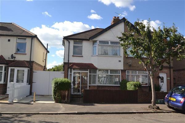 Thumbnail Semi-detached house for sale in Buckingham Avenue, Feltham