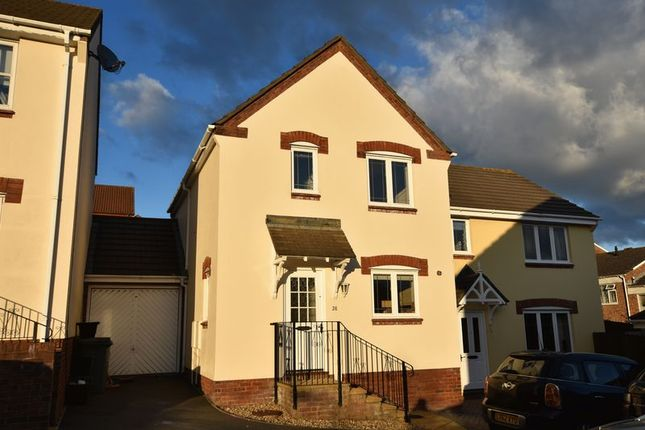 Thumbnail Semi-detached house to rent in Soloman Drive, Bideford