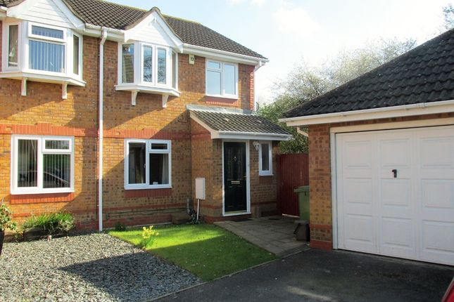 Thumbnail Semi-detached house for sale in Peppercorn Way, Hedge End, Southampton