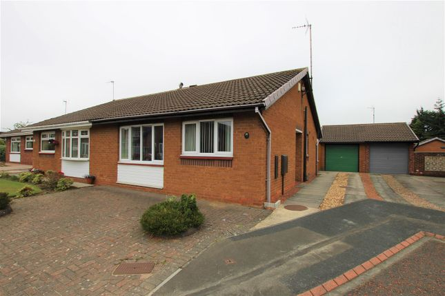 Thumbnail Semi-detached bungalow for sale in Shawbrow View, Bishop Auckland