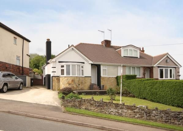 Thumbnail Bungalow for sale in Hallowes Rise, Dronfield, Derbyshire