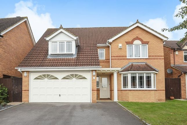 Thumbnail Detached house for sale in Withybed Way, Thatcham