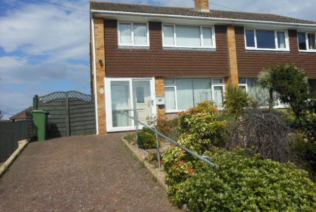 Thumbnail Semi-detached house to rent in Quarry Lane, Exeter