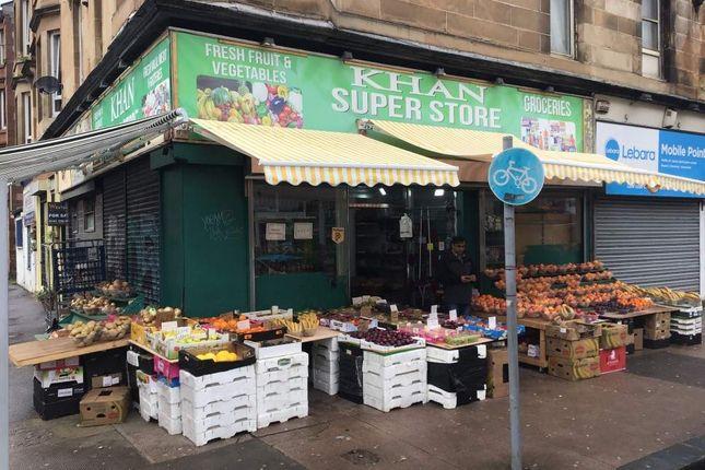 Retail premises for sale in Victoria Road, Glasgow