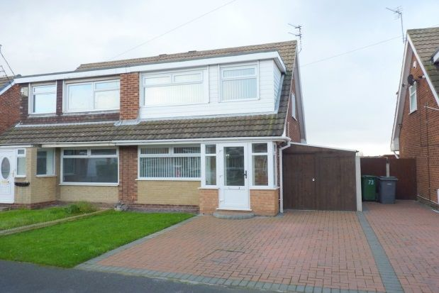 Thumbnail Semi-detached house to rent in Heyes Drive, Wallasey