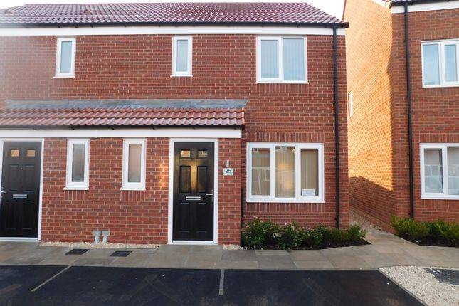 Thumbnail Semi-detached house to rent in Skylark Way, Clipstone Village, Mansfield