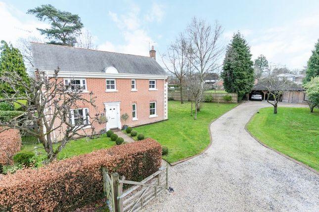 Thumbnail Detached house for sale in Tithe Orchard, Felbridge, West Sussex