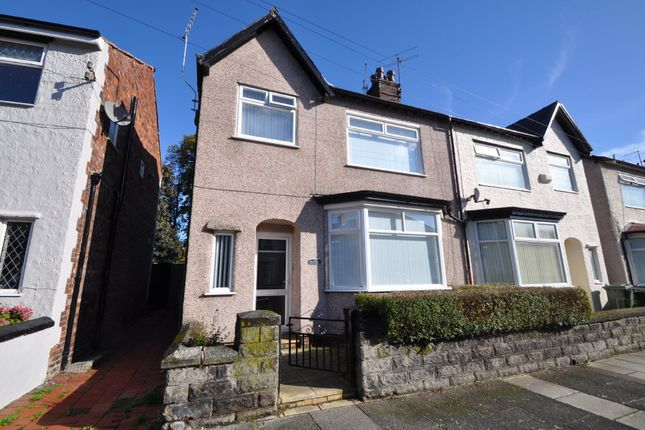 Thumbnail Semi-detached house for sale in Pendennis Road, Wallasey
