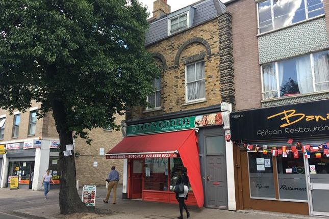 Thumbnail Commercial property for sale in 596 High Road, London