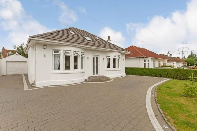 Thumbnail Bungalow for sale in Netherdale Drive, Paisley, Renfrewshire