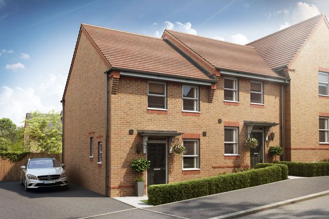 "Thumbnail Terraced house for sale in ""Arley"" at St. Georges Way, Newport"