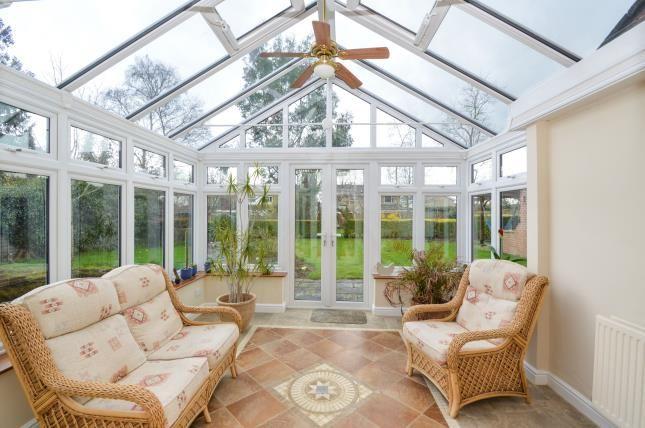 Conservatory of Lubenham Hill, Market Harborough, Leicestershire LE16