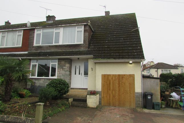 Thumbnail Semi-detached house to rent in St.Davids Close, Weston-Super-Mare