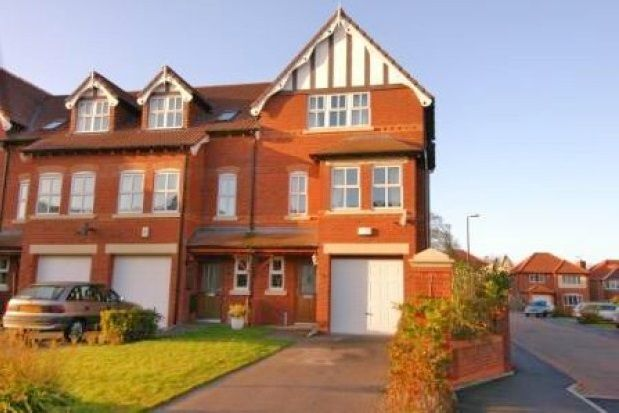 Thumbnail Town house to rent in Larton Farm Close, Newton, West Kirby