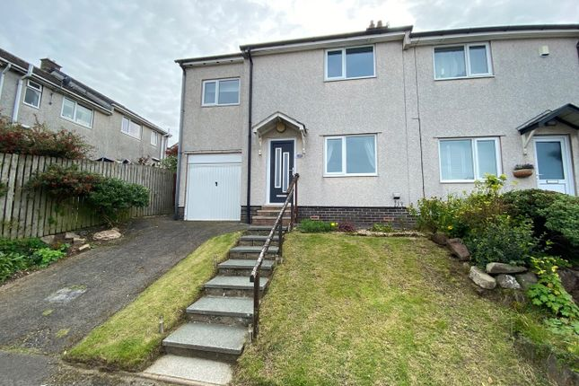 Thumbnail Semi-detached house for sale in Burton High Close, Harras Moor, Whitehaven