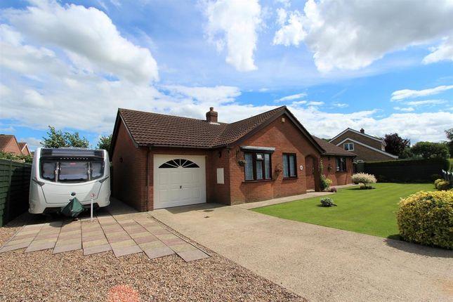 Thumbnail Detached bungalow for sale in Beck Way, Louth