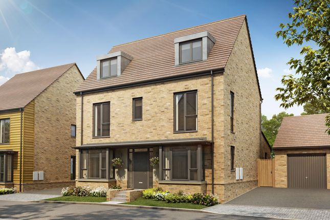 "Thumbnail Detached house for sale in ""Shaftesbury Plus"" at The Green, Upper Lodge Way, Coulsdon"