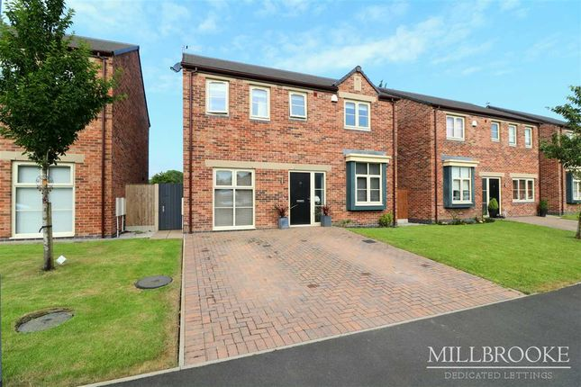 Thumbnail Detached house to rent in Brook Meadow Close, Astley