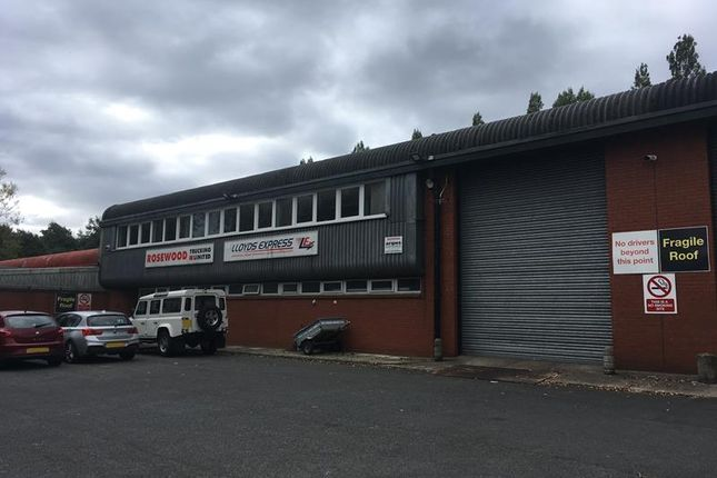 Thumbnail Warehouse for sale in Unit 7 Seddon Place, Stanley Ind. Estate, Skelmersdale, Lancashire