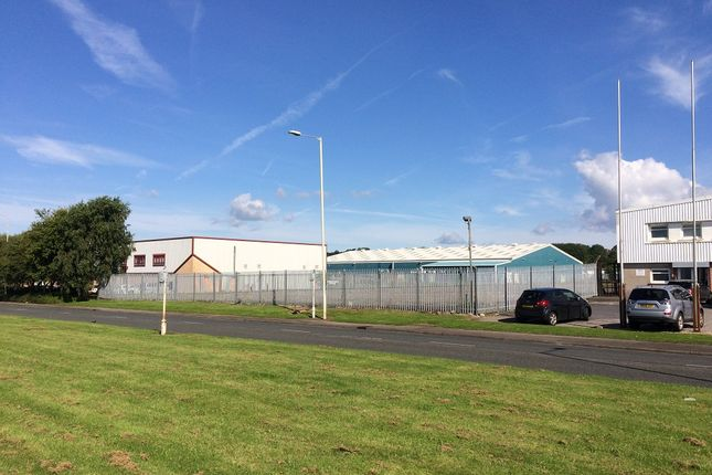 Thumbnail Land to let in Western Avenue, Bridgend Industrial Estate