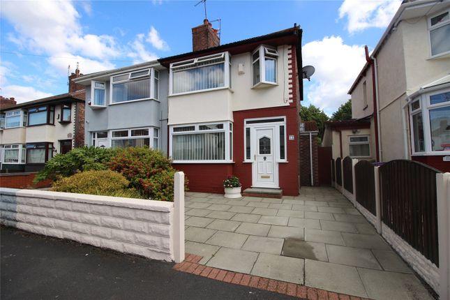 Thumbnail Semi-detached house for sale in Sherwyn Road, Liverpool, Merseyside