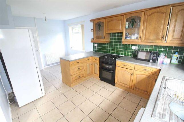 Thumbnail End terrace house to rent in Fairhill, Cwmbran, Torfaen