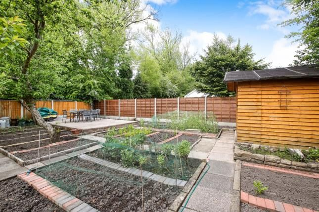 Garden of The Crescent, Stockport, Greater Manchester SK3