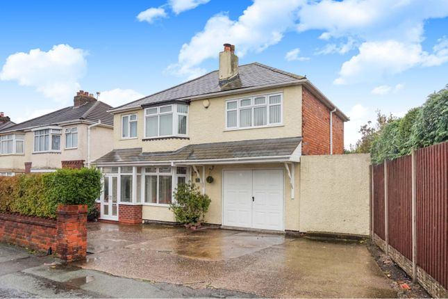 Thumbnail Detached house for sale in Waite Road, Willenhall