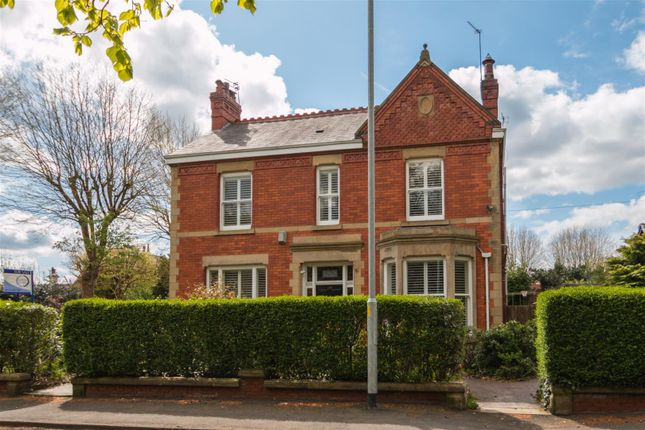 Thumbnail Detached house for sale in Walton Road, Stockton Heath, Warrington