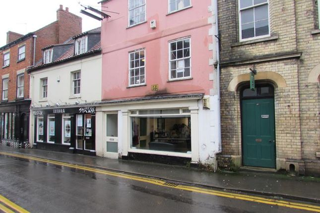 Retail premises to let in 17A Westgate, Sleaford, Lincolnshire