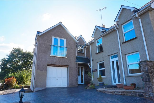 Thumbnail Detached house for sale in Poplars Road, Abergavenny