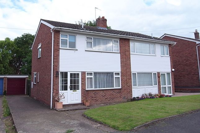 Semi-detached house for sale in Meadway, Malvern