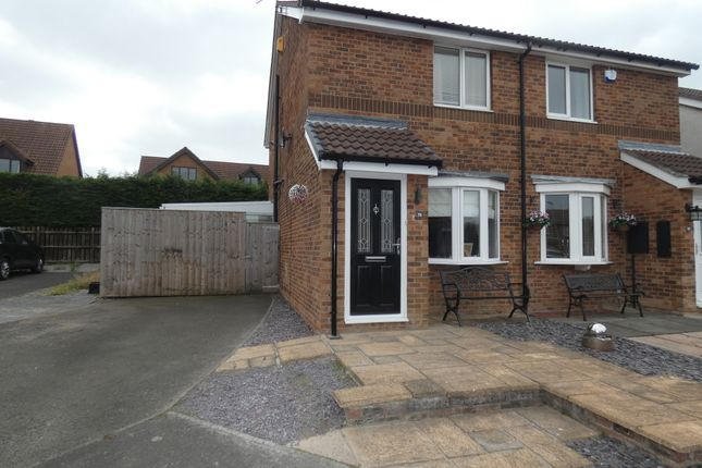 Thumbnail Semi-detached house for sale in Linden Road, Seaton Delaval, Tyne & Wear