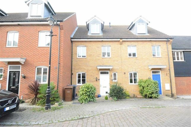Thumbnail Town house for sale in Medbree Court, Orsett Village, Essex