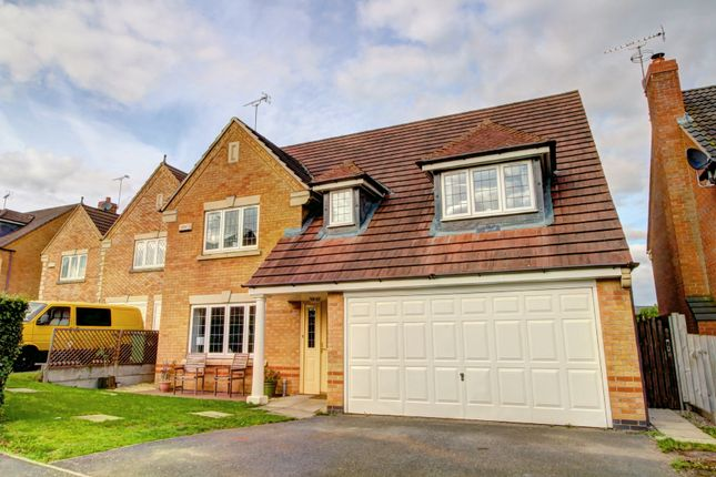 Thumbnail Detached house for sale in Siskin Close, Rugby