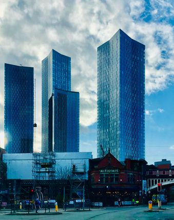 Thumbnail Flat to rent in South Tower, Deansgate Square, Manchester