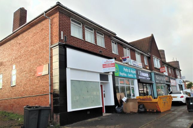 Thumbnail Retail premises for sale in Walsall Road, Great Barr
