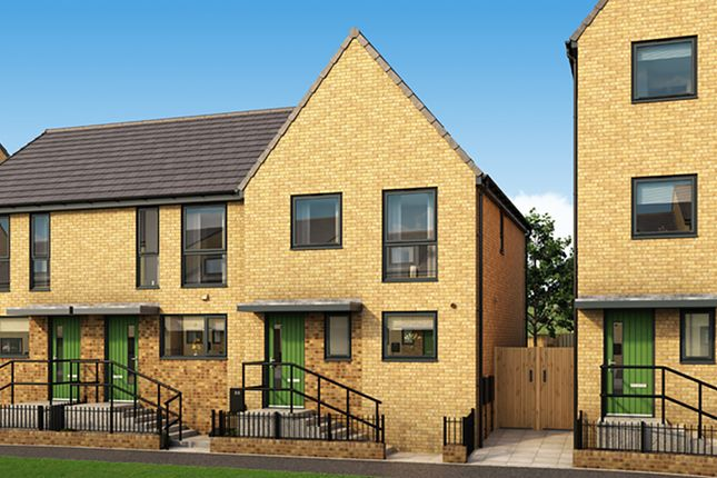 """Thumbnail Semi-detached house for sale in """"The Henson"""" at Arkwright Walk, Nottingham"""