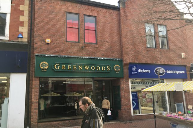 Thumbnail Retail premises to let in Bridge Street, Worksop