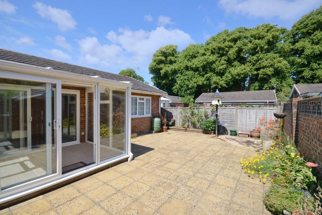 Thumbnail Detached bungalow for sale in Woodnutt Close, Bembridge