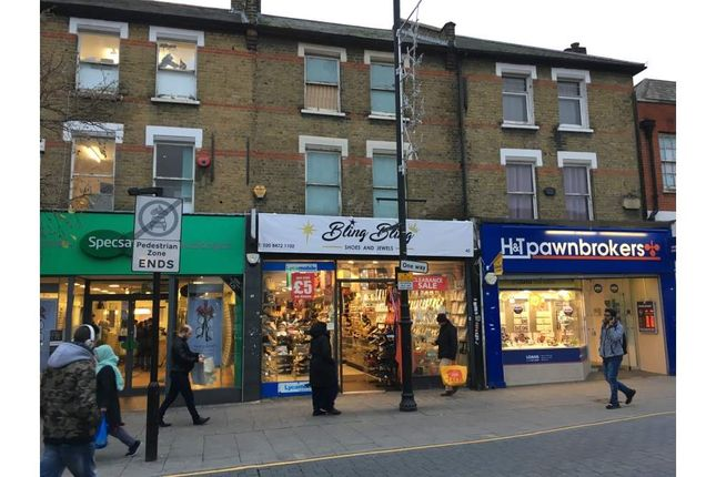 Thumbnail Retail premises for sale in 45 High Street North, London