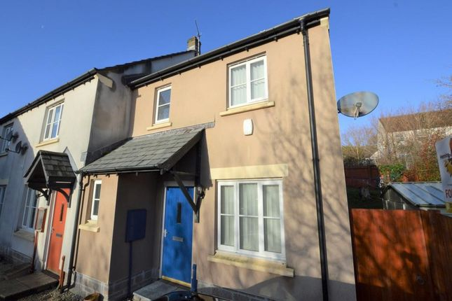 Thumbnail End terrace house to rent in Treetop Close, Pillmere, Saltash, Cornwall