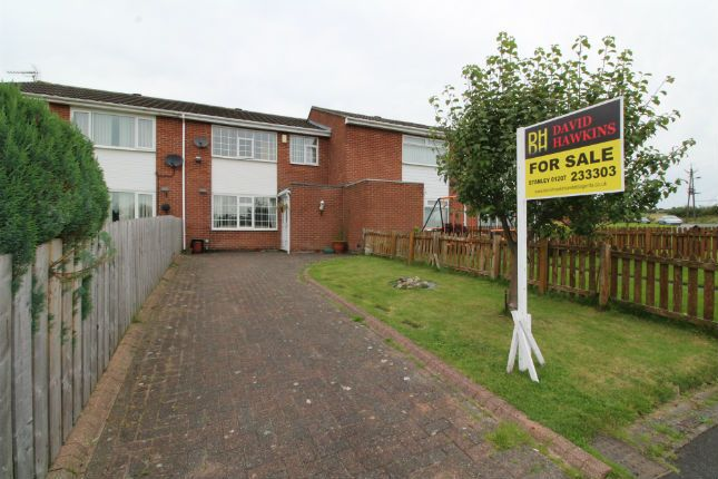 Thumbnail Terraced house for sale in Nightingale Place, Stanley, Co Durham