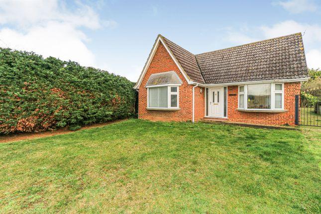 Thumbnail Detached bungalow for sale in Marsh Lane, Milton Ernest, Bedford
